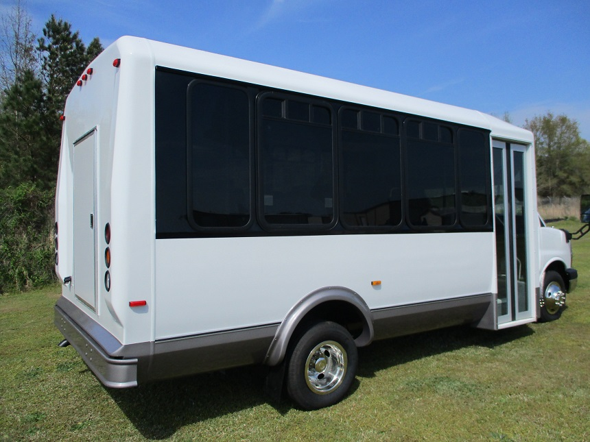Used Bus Sales 15 Passenger Rear Luggage Dr